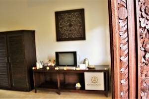 Nibbana Bali Resort Bali - ornamen kamar superior
