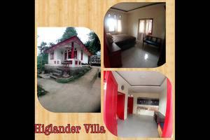 Resort Highlander Bogor - Villa Kolam