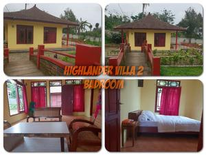 Resort Highlander Bogor - Villa Penginapan yang nyaman, bersih dan cocok untuk bernginap di villa higlander