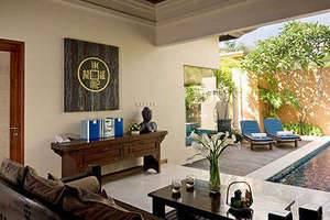 Bhavana Private Villas Bali - Ruang tamu