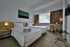 Whiz Hotel Sudirman Pekanbaru - Standard Twin Room