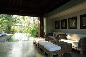 Swarapadi Villa Bali - Ruang tamu