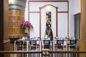 3 Princess Boutique Hotel Bali - Ruang makan