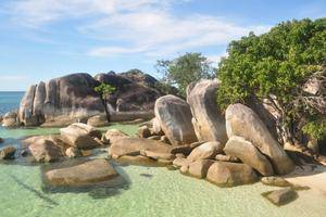 Billiton Hotel Belitung - view