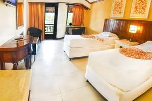 Bali Garden Beach Resort Bali - Kamar Deluxe dengan 2 tempat tidur single