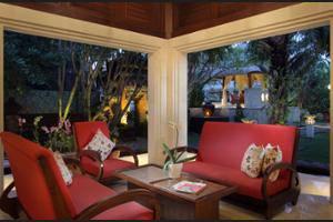 Griya Santrian Bali - Lobby Sitting Area