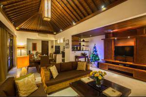 Villa Seriska Satu Sanur Bali - Living Room