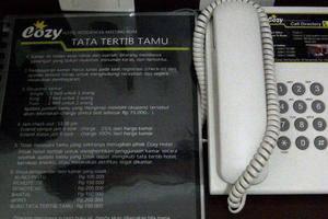 Cozy Hotel Samarinda - telepon