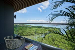 The Crystal Luxury Bay Resort Nusa Dua - Bali Bali - Mangrove Ocean View from Balcony