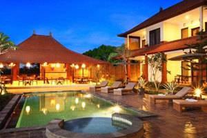 Inata Bisma Bali - Tampilan dari kolam renang