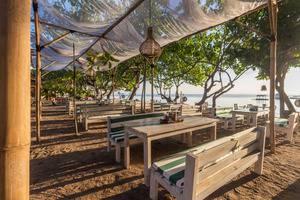 Taman Sari Bali Resort Bali - Restaurant Depan pantai