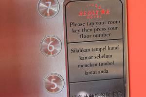 Redstar Hotel Jakarta - Lift