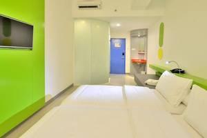 POP Hotel Stasiun Kota Surabaya - Kamar tamu