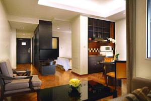 Aston Kuningan Suites Hotel Jakarta - Ruang satu kamar tidur