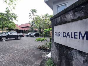 Puri Dalem Hotel Bali - Tempat Parkir