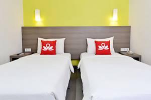 ZenRooms Pakuan Baranangsiang - Tampak tempat tidur twin