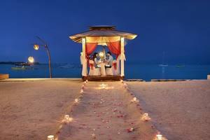 Hotel Villa Ombak Lombok - Makan malam romantis