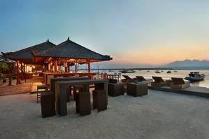 Hotel Villa Ombak Lombok - Bar