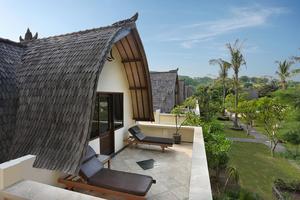 Hotel Villa Ombak Lombok - View