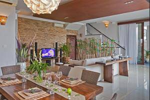 Villa Sky House Bali - Living Area