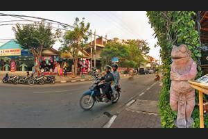Green Garden Hotel Bali - Street View