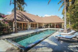 Kelapa Luxury Villas Lombok - Living Area