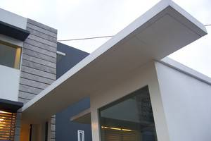 FLAT06 minimalist residence Jakarta - Pintu Masuk