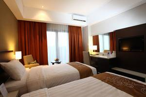 Soll Marina Hotel Bangka - Deluxe Twin Bed