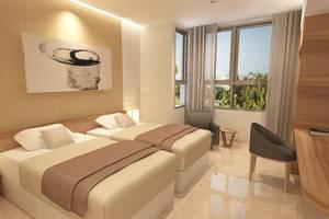 Wing Hotel & Residence Kualanamu Medan - Kamar Superior Twin