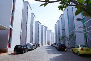 De Green Inn @aeropolis Tangerang - area parkir