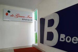 De Green Inn @aeropolis Tangerang - Pintu Masuk