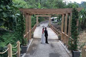 Botanica Nature Resort Bitung - Pra Nikah di Jembatan