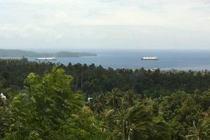 Botanica Nature Resort Bitung - Pemandangan ke teluk Lembeh
