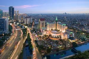 Hotel Ciputra Jakarta - Night View