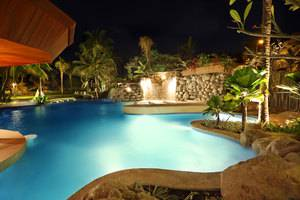 Bali Mandira Beach Resort & Spa Bali - Waterfall-Jacuzzi-Pool