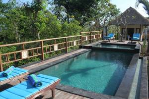 Dream Beach Kubu Lembongan - Area kolam renang