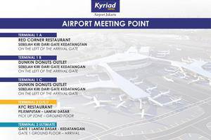 Kyriad Hotel Airport Jakarta - Meeting Point at Airport