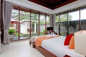 ZenRooms Pengosekan Ubud Villa Bali - Tempat Tidur Double