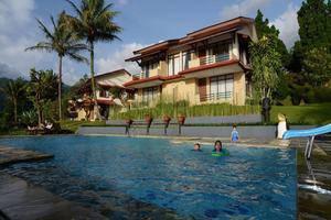 The Jayakarta Cisarua - Pemandangan Kolam Renang