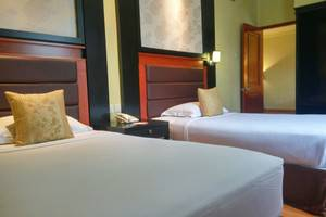 Garden Permata Hotel Bandung - Kamar Ranjang Twin
