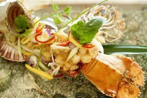 Arumdalu Private Resort Belitung - Makanan