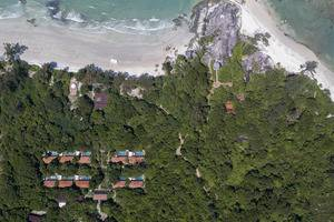 Arumdalu Private Resort Belitung - Aerial View