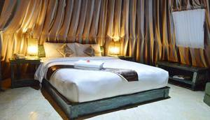 Highland Park Resort Bogor - Camp Apache capacity 2-4 persons with 1 Double Bed and 2 Sofa bed