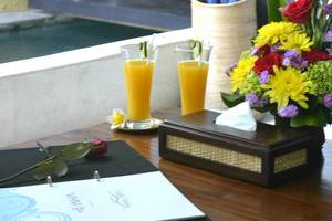 Villa Grace & Milena Bali - welcome drink