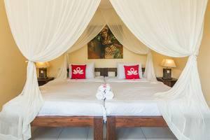 ZenRooms Ubud Mas - Tampak tempat tidur double