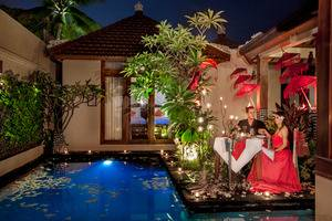 Astagina Resort Villa and Spa Bali - Romantic Dinner in the Villa