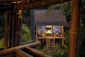 Bambu Indah Villa Bali - Biru (23/Dec/2013)