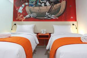 Fizz Hotel Lombok Lombok - Kamar tamu