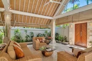 Citrus Tree Villas - La Playa Bali - Ruang tamu