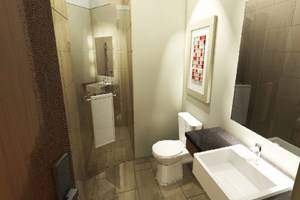 Travello Hotel Bandung - Kamar mandi